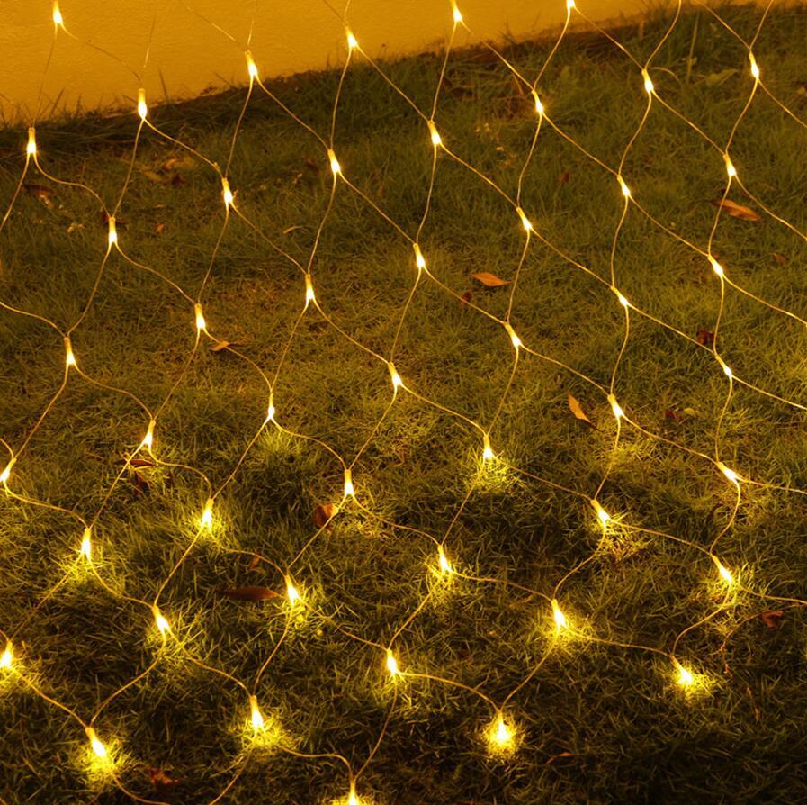 LED Net Mesh String Light 3x2M 230 LED Window Wall Tree Store Xmas Garden Lamp