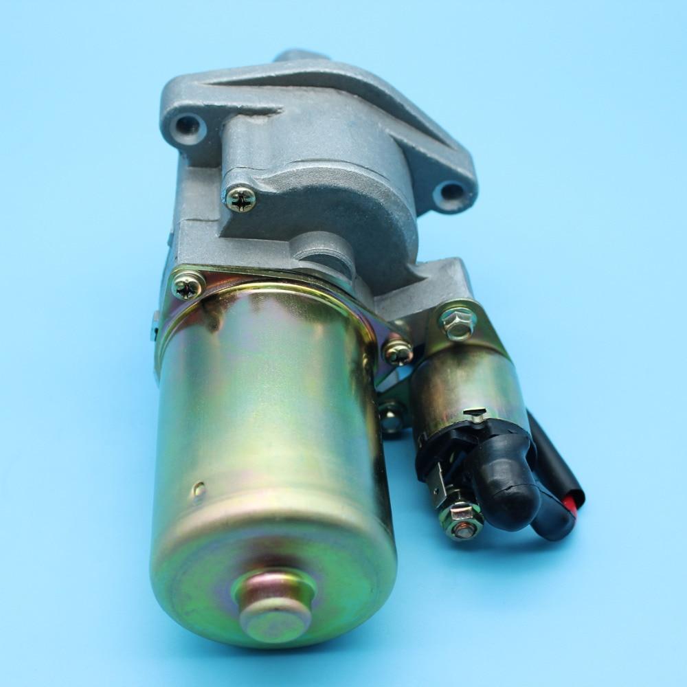 Starter Motor w  Solenoid Assy Kit For HONDA GX340 11HP GX390 13HP GX 340 390 Small Engine Motor 31210-ZE3-013   31210-ZE3-023
