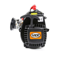 32cc 4 Bolt Gas Motor Engine for 1/5 HPI Rovan KM 5B 5T 5SC LOSI FG GoPed Losi 5IVE T Redcat Rempage HSP Gas Truck RC Car Parts