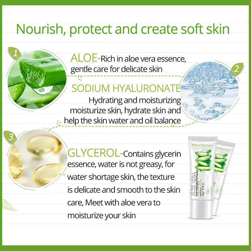 Gel para el acné de Aloe Vera Natural, tratamiento facial para la reparación del sueño después de dormir, máscara blanqueadora por ROREC, húmedo para hidratación