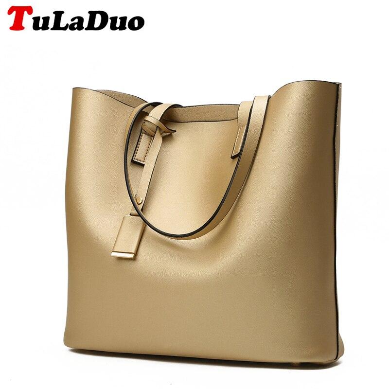 Famous Brands Designer Big Women Shoulder Bags High Quality Soft Leather Women Handbags Large Capacity Ladies Tote Bag Casual