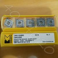 Kennametal CNMG120408MS KCU10 CNMG432MS KCU10 10 pcs pastilhas de metal duro|Ferr. torneam.| |  -