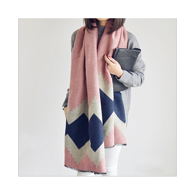 ladies scarves 2016 winter fashion plaid scarf for women Imitation cashmere shawls and scarves new style
