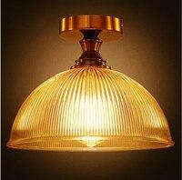 Eisen Wrount Edison Vintage deckenleuchten Leuchten Zu Hause Beleuchtung Edison Led-deckenleuchte Industrie Plafon Lampara Techo