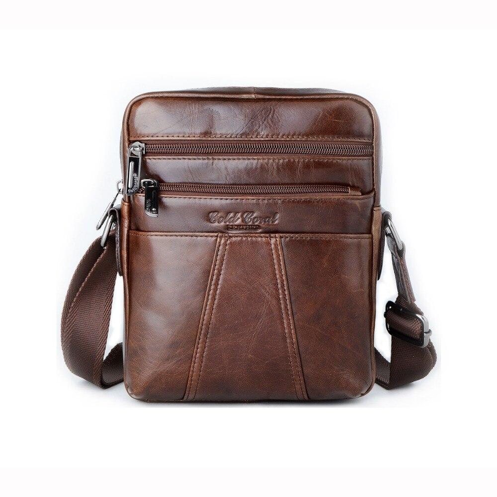 Best Sellers genuine leather messenger bag for men crossbody shoulder bag male cowhide handbags casual business travel bags