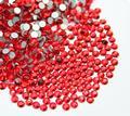 SS3-SS34 Кристалл Сиам/Красный, Не Исправление Flatback Стразами Ногтей Rhinestoens Для Ногтей 3D Nail Art Украшения Драгоценные Камни