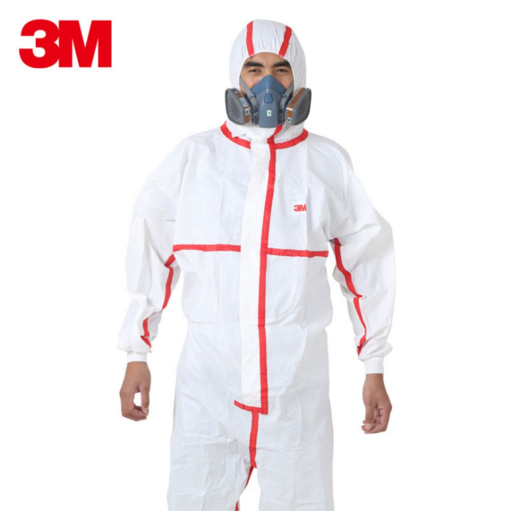 3M 4565 Safety Clothing Disposable Chemical Protective Coverall Safety Work Wear Medical Against Chemical Splashes Protective Cl