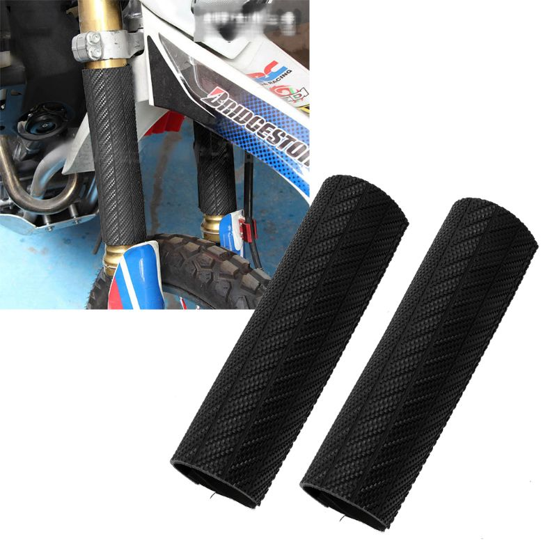 1 Pair Front Fork Protector Shock Absorbing Wrap Cover Guard For Yamaha YZ WR Honda CRF KTM SX EXC Suzuki RMZ 125 250 350 450 Hu in Falling Protection from Automobiles Motorcycles