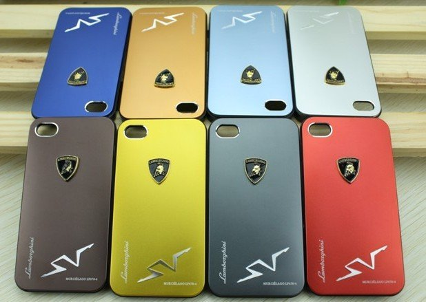 info for 674bb f52ee US $65.0 |Luxury Lamborghini car logo Metal Case For Iphone 4 4S with  Retail Package Free DHL EMS 10pcs/lot on Aliexpress.com | Alibaba Group
