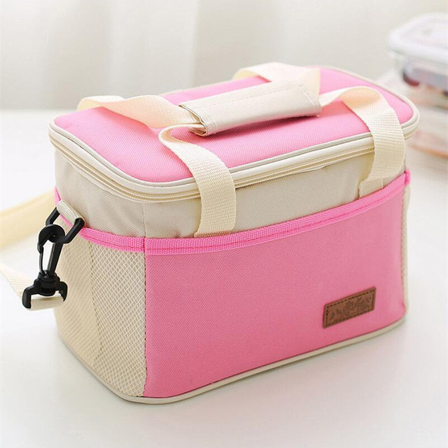 Thermal Insulation Cooler Lunch Bag Portable BBQ Fresh Keeping Bag Box Accessories Supplies Gear Items Stuff Products