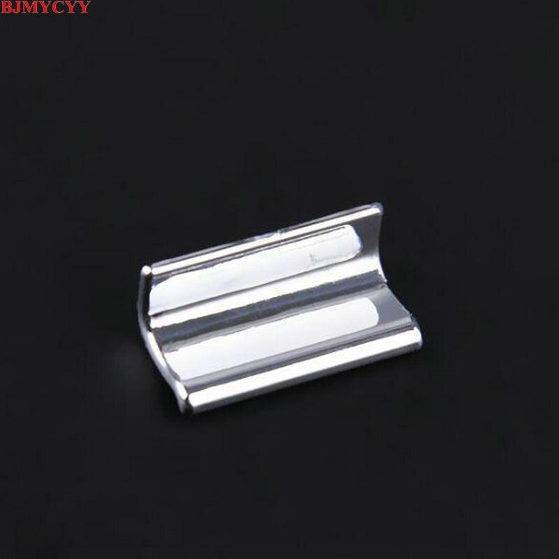 BJMYCYY наклеиваемого покрытия для автостайлинга из ABS 7 шт./компл. автомобильный стеклоподъемник кнопки украсить блестками для peugeot 308 308s T9- автомобильные аксессуары