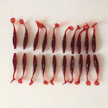 10 Pcs/lot 60mm/1.3g Soft Fishing Lure Lot Plastic Lure Swimbait Soft Shad  Iscas artificiais 2016 lures for fishing FU227