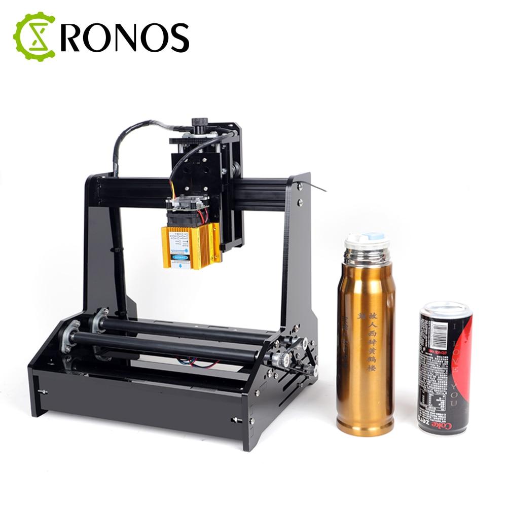 Petite Machine de gravure Laser cylindrique peut graver le routeur de CNC de traceur de découpe de bricolage automatique d'acier inoxydable cylindrique