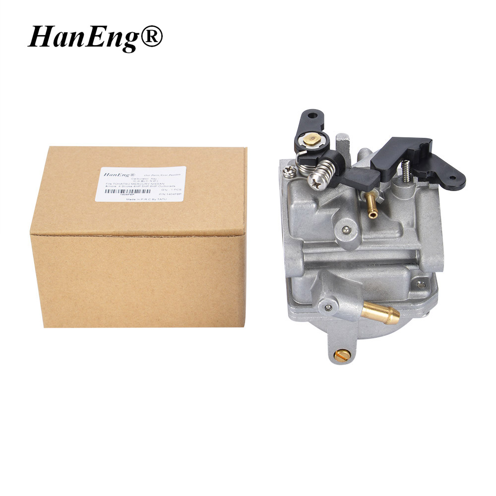 OUTBOARD 5HP CARBURETOR FOR HYFONG NISSAN TOHATSU MERCURY MFS4 MFS5 NFS4 4 STROKE 3.5HP 4HP 6HP CARB CARBURETER ASY MARINE MOTOR 4 5hp fin
