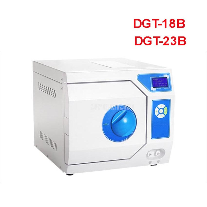 DGT-18B/23B 18L/23L LCD Display Three-Times Pulse Vacuum Disinfecting Cabinet Stainless Steel Sterilize Dental Disinfection Box
