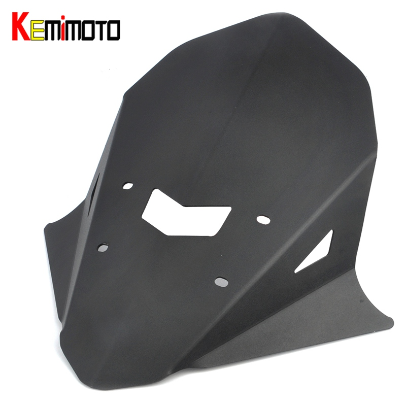 Здесь продается  KEMiMOTO For Yamaha MT-10 MT10 MT 10 2016 2017 Motorcycle Accessories Windshield Windscreen Aluminum  Автомобили и Мотоциклы