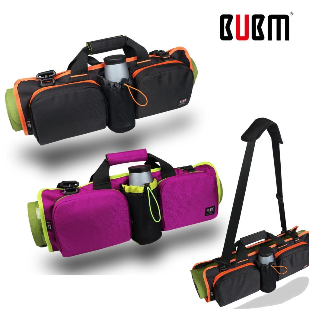 imágenes para BUBM Profesional Bolsa de Deporte Para Gopro Cámara Del Teléfono/Rollpack Yoga Estera de Yoga Bolsa de Hombro Paquete De La Caja