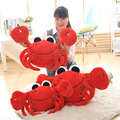 Lovely Small Crab Plush Doll Children's Toys Creative Personality Birthday Gift 65cm Blue Red Crabs Plush Animals Toys