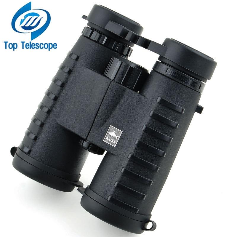 binoculars telescope Asika 10x42 outdoor fun sports military standard grade high powered night vision binoculars HD 2018 New