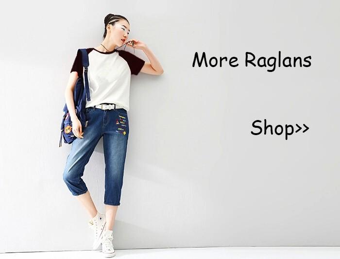 700PX Raglan Short Sleeve T-shirt 8