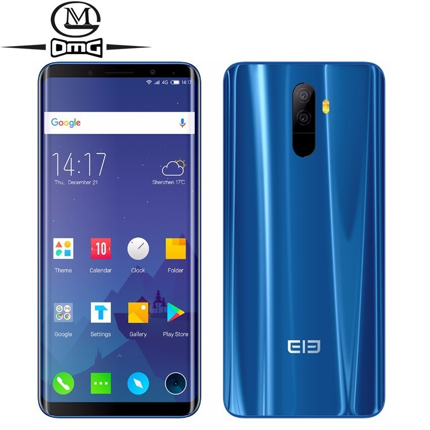 Elephone U Pro 6GB RAM 128GB ROM Android 8.0 4G LTE Smartphone Qualcomm Snapdragon 660 cell phone 13MP Dual RearCam mobile Phone