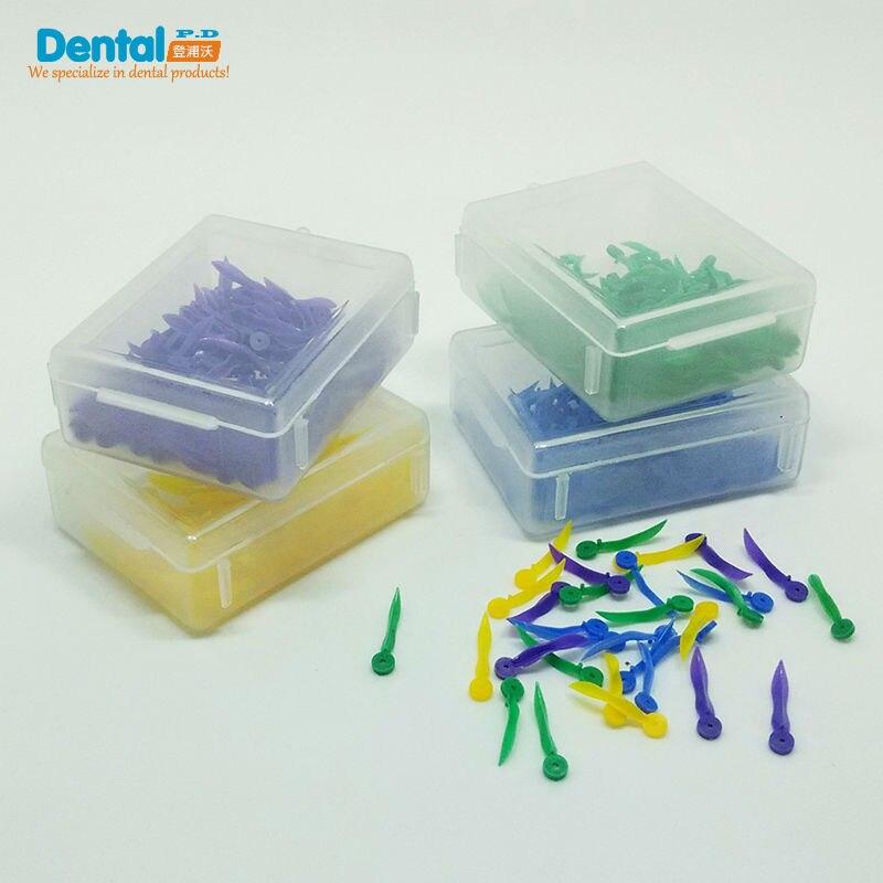 Купить с кэшбэком free shipping Dental Disposable Wedges Plastic with hole