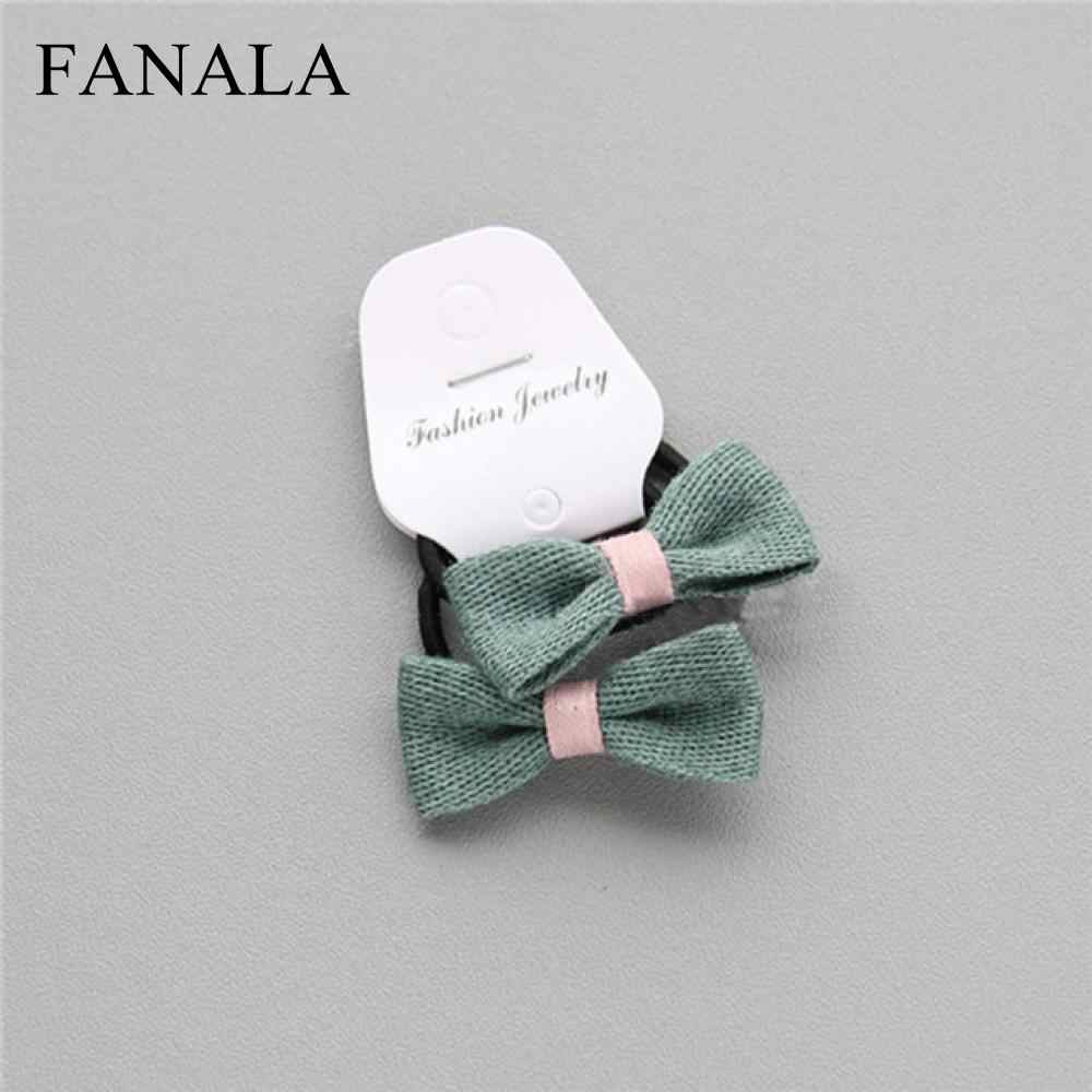 3307cdd45763 Detail Feedback Questions about Fashion Hair 2 Quality Headwear PCs 10 High  Flower Colors Buterfly band Korean Gifts Cloth Beautiful Girls Children New  on ...
