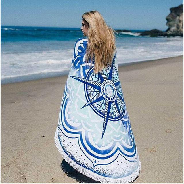 150CM Bohemia Printed Round Circle Beach Towel