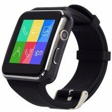 X6sโค้งหน้าจอบลูทูธsmart watch s mart w atchนาฬิกานาฬิกาสปอร์ตนาฬิกาข้อมือสำหรับa ndroidโทรศัพท์กับกล้องสนับสนุนซิมการ์ด