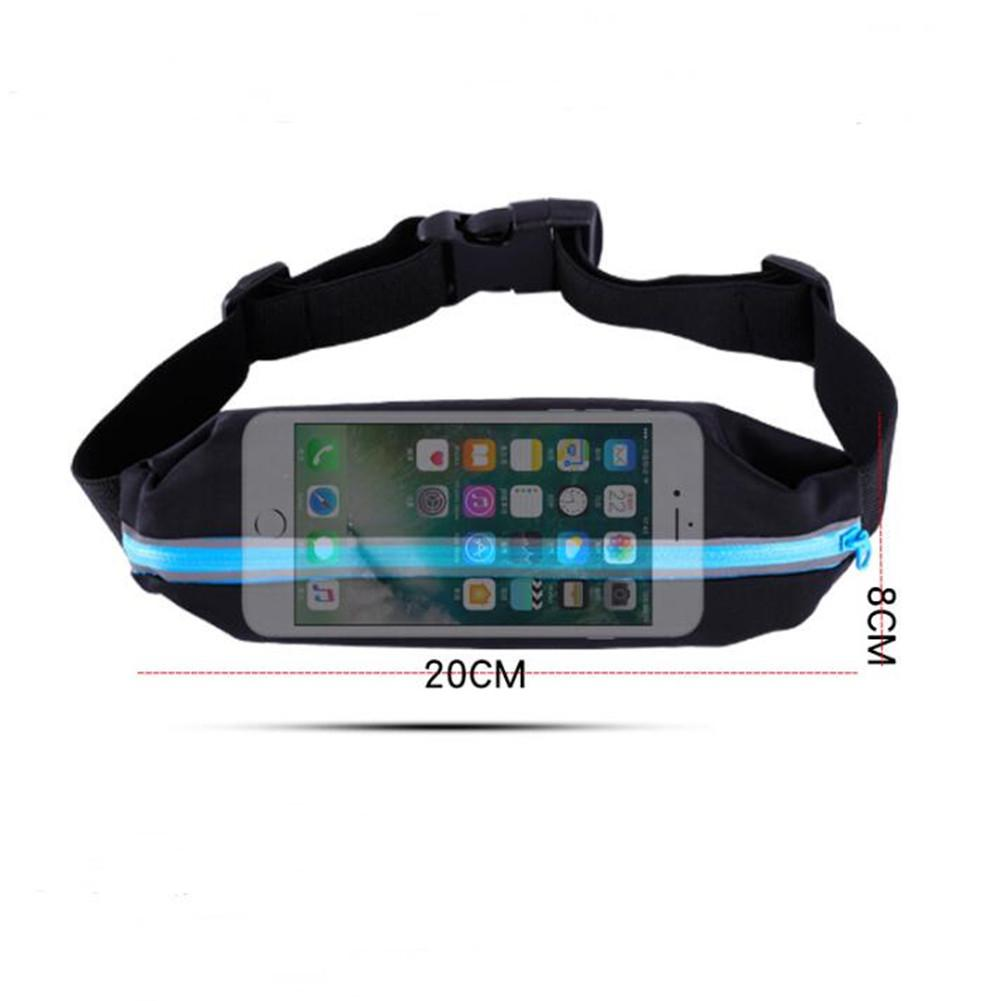 Unisex Outdoor Sports Waist Bag Riding Running Security Smart Phone Bag Invisible Belt