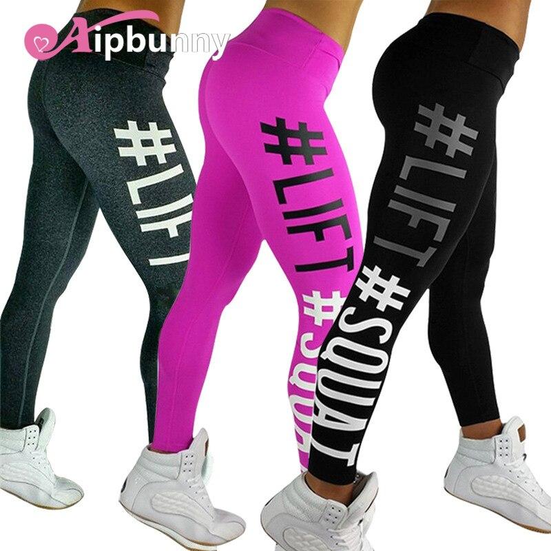 AipBunny Bodybuilding Hips Push Up Women Yoga Pants