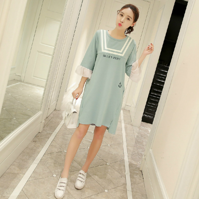 Summer Cotton Pregnancy Nursing Dresses Clothes for Pregnant Women Fashion Sweet Maternity Nursing Dress Maternity Feeding DressSummer Cotton Pregnancy Nursing Dresses Clothes for Pregnant Women Fashion Sweet Maternity Nursing Dress Maternity Feeding Dress
