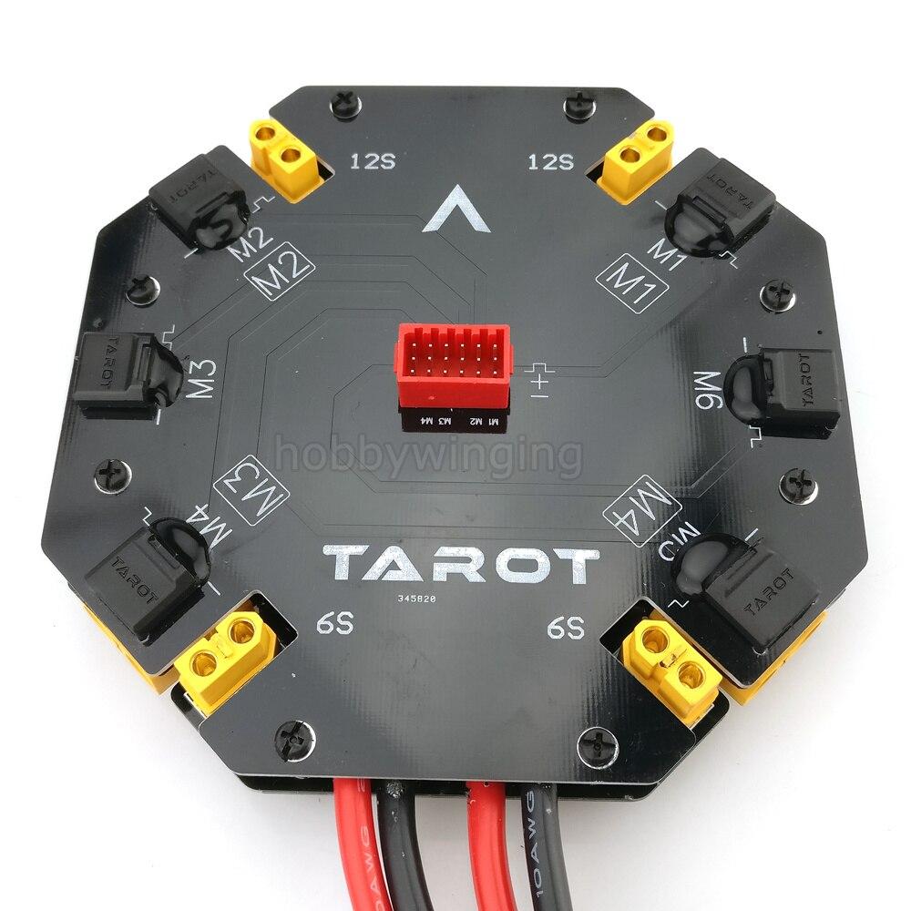 Tarot Hochstrom Verteiler Power management modul 12 S 480A Power Supply Board für Landwirtschaftliche Drone Quad/Hexacopter-in Teile & Zubehör aus Spielzeug und Hobbys bei  Gruppe 1