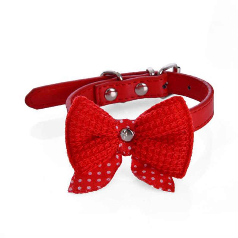 חיות מחמד כלב עניבת פרפר צווארון חתול צווארון מותאם אישית יפה גור כלבים צווארון עבור קטן כלבי צ 'יוואווה טדי