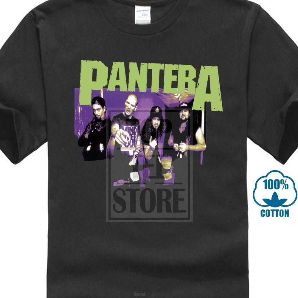pantera group sketch shirt s m l xl official tshirt rock. Black Bedroom Furniture Sets. Home Design Ideas