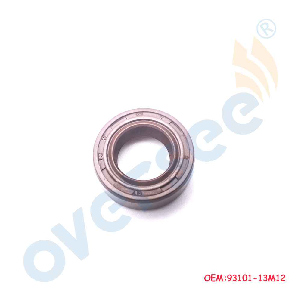 OVERSEE OIL SEAL 3HP 4HP 5HP 6HP F2.5 F4 93101-13M12 For Yamaha 2stroke Outboard Motor