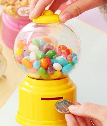 -home Kunststoff Candy Maschine Geld Bank Geschenk Lagerung Box Geschenke Für Die Kinder & Liebhaber 7 Farben Beste Verkauf Seien Sie Freundlich Im Gebrauch