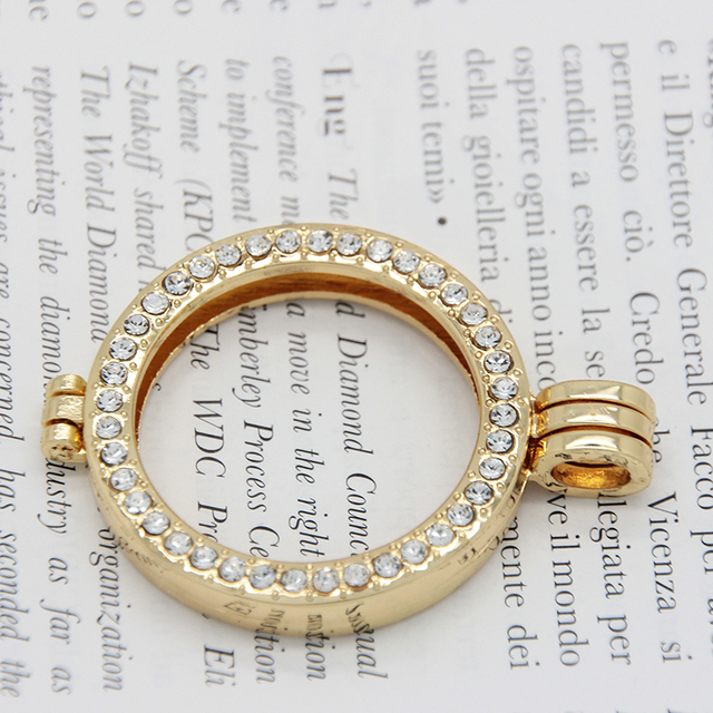 Gold color coin bezel fit 33mm coin charms alloy frame pendant for gold color coin bezel fit 33mm coin charms alloy frame pendant for my coin holder pendant aloadofball Choice Image