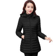 15c1f0f56f4 B3163 2019 новая Корейская версия модная осенне-зимняя женская мода  свободная теплая хлопковая стеганая одежда
