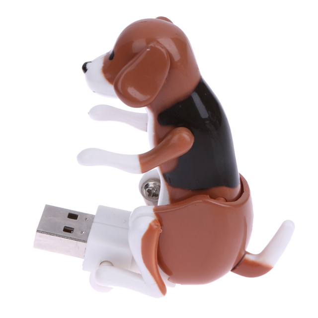 Portable Mini Cute USB 2.0 Funny Humping Spot Dog Rascal Dog Toy Relieve Pressure for Office Worker Best gift For Festival 1