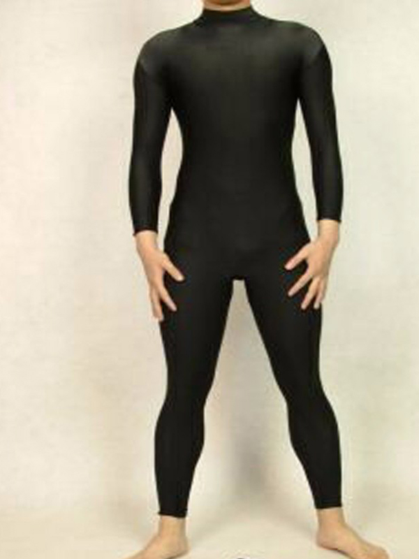 Lycra Spandex Black Zentai Catsuit Tights Halloween Cosplay Undersuit Free Shipping