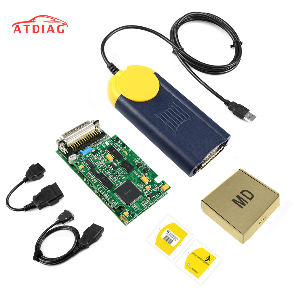 Diagnostic tool Multi Diag Multi Diag Access J2534 interface OBD2 Device Multidiag J2534 with free shipping