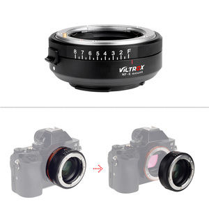 Image 3 - Viltrox NF E Handleiding Focus F Mount Lens Adapter Telecompressor Focal Reducer Speed Booster Voor Nikon F Sony Nex e Mount Camera