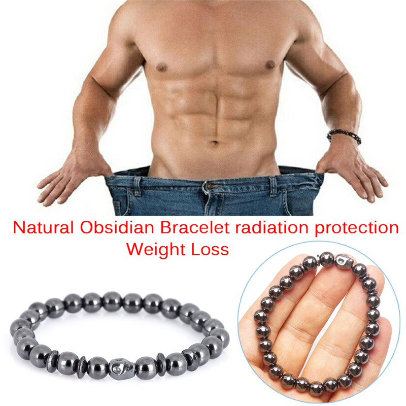 1PC Weight Loss Skull Black...