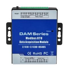 Modbus RTU Modulo IO 4 ingressi Digitali di controllo 4 Digitale Moduli di Uscita A Relè Ripetitore Estensibile per S27X MXX Seris DAM112