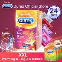 Durex волшебный презерватив XXL большой размер Спайк Ультра тонкие секс продукты натуральный резиновый рукав петуха интимные товары Сексуальн...
