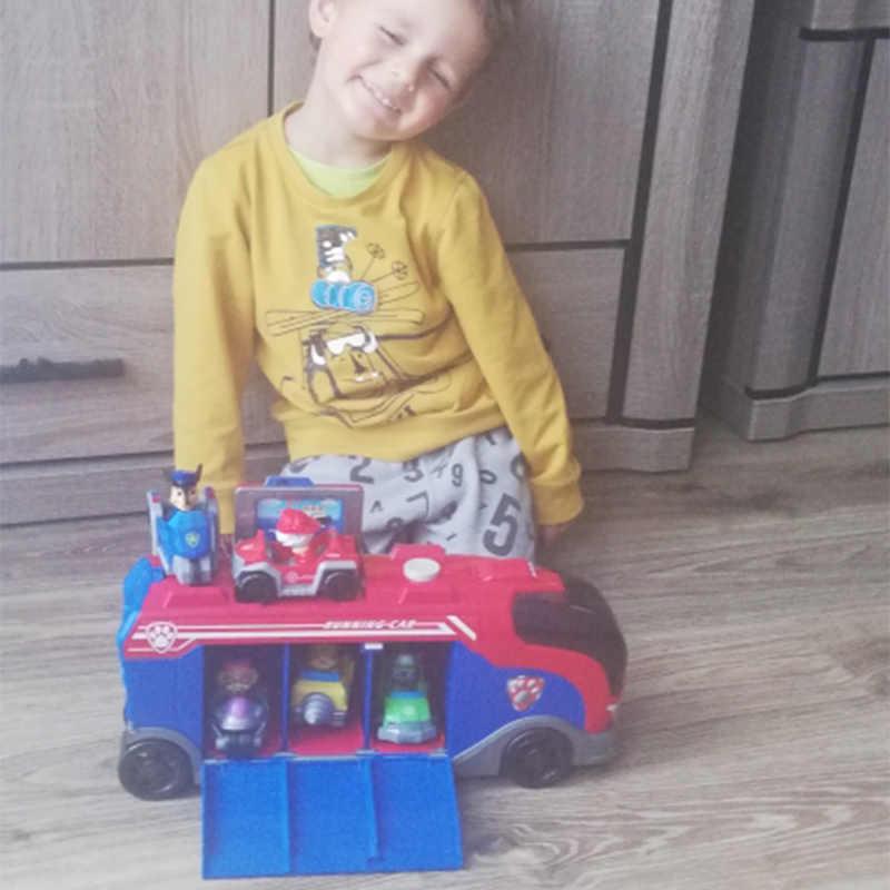 Pata Patrulha Missão Cão Cruiser Patrulha Canina Set Brinquedos Perseguição Marshall Veículo Car Action Figure Brinquedo Para Crianças Presentes de Aniversário