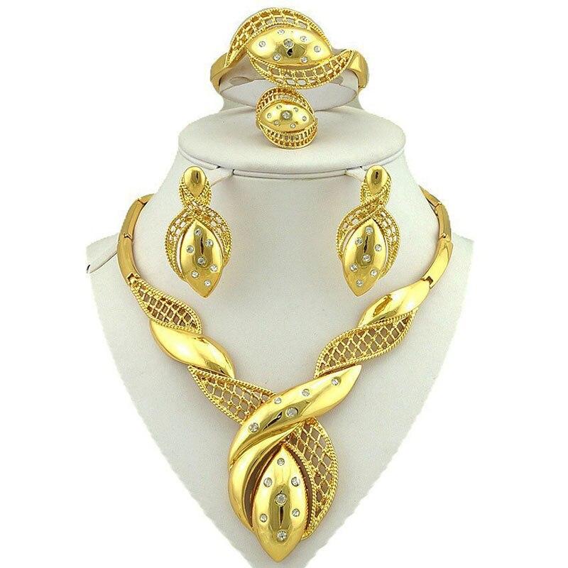 jewelry sets dubai gold jewelry women fashion necklace fine jewelry sets women necklace 24k gold jewelry