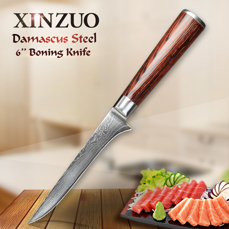 NEW 6 INCH boning knives VG 10 73 layers Damascus steel kitchen knife Damascus knife kitchen