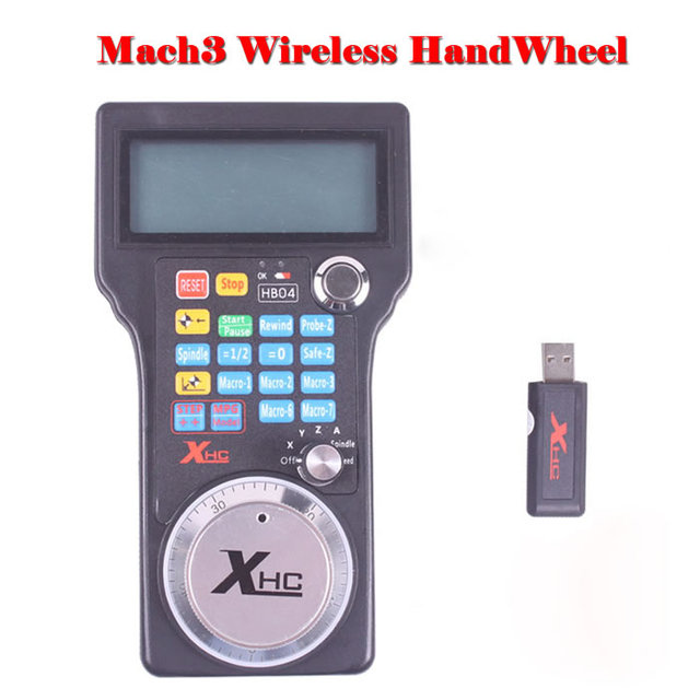 Hot sale CNC part MPG Mach3 wireless handwheel for cnc router controller